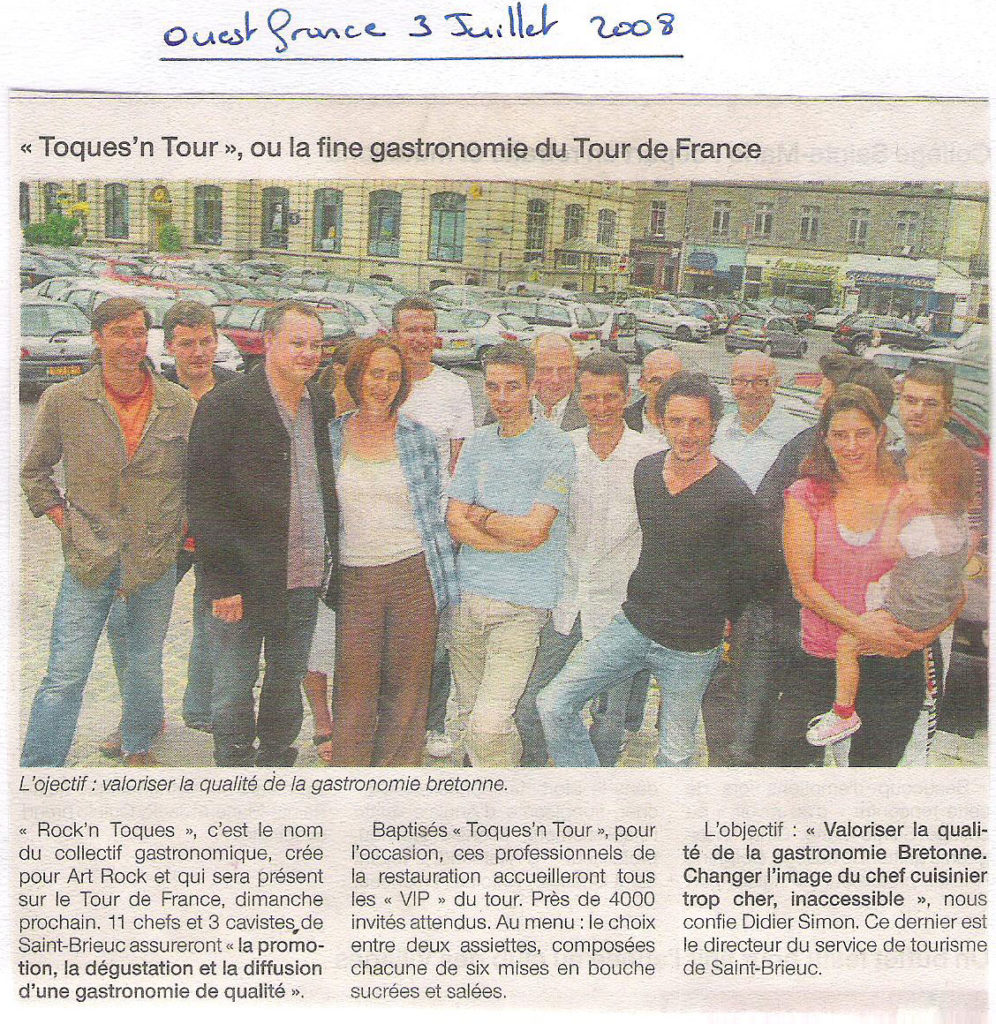 Ouest France 03-07-2008